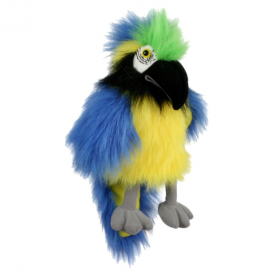 The Puppet Company Baby Blue & Gold Macaw