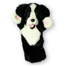 The Puppet Company Glove Puppet Border Collie