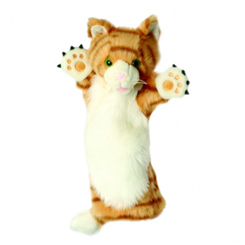 The Puppet Company Glove Puppet Cat Ginger