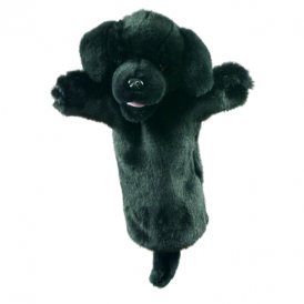 The Puppet Company Glove Puppet Labrador Black