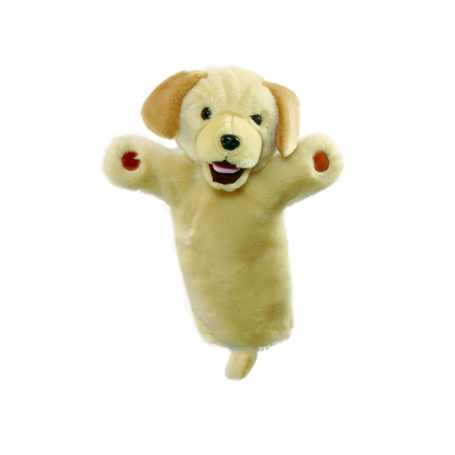 The Puppet Co. The Puppet Company Glove Puppet Labrador Yellow