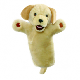The Puppet Company Glove Puppet Labrador Yellow