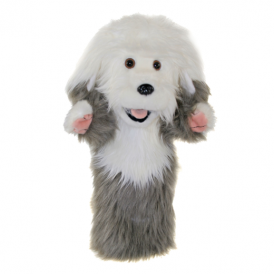 The Puppet Company Glove Puppet Old English Sheepdog