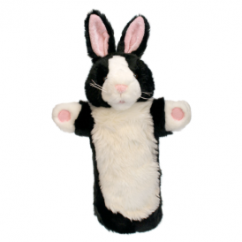 The Puppet Company Glove Puppet Rabbit Black & White