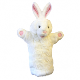 The Puppet Company Glove Puppet Rabbit White