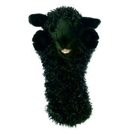 The Puppet Company Glove Puppet Sheep Black