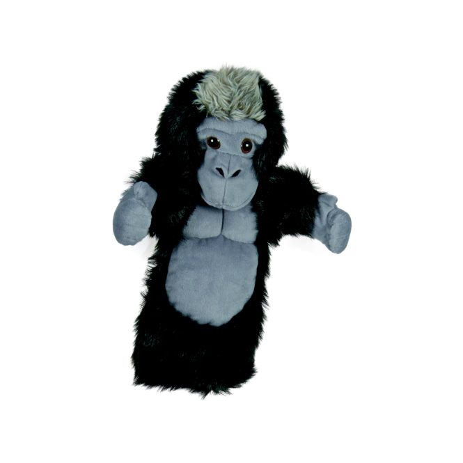 The Puppet Co. The Puppet Company Glove Puppet Silverback Gorilla
