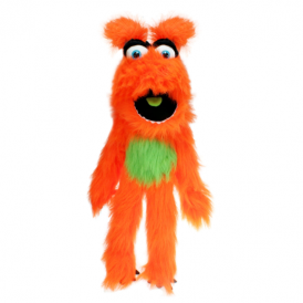 The Puppet Company Monster Orange