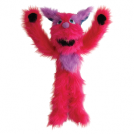 The Puppet Company Monster Pink