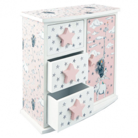 Think Pink Animal Party Drawers
