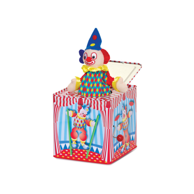 Tobar Ltd Tobar - Clown Jack-In-The-Box