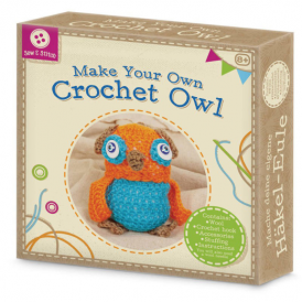 Tobar Make Your Own Crochet Owl