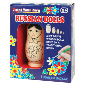 Tobar Paint Your Own Russian Dolls