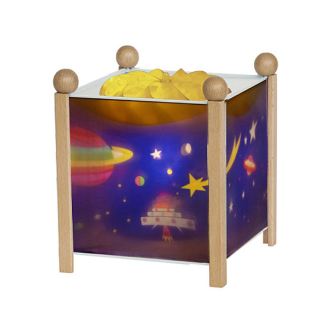 Trousselier Magic Lantern Space Natural Wood Frame