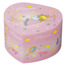 Troussellier Jewellery Box Heart Fairy Princess