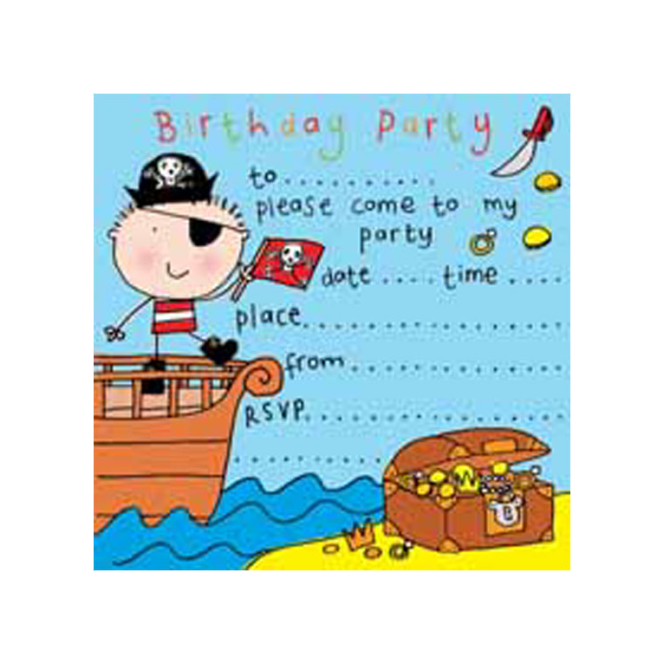 twizler party invitations pirate party time from soup dragon uk