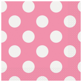 Unique Pink Dots Napkins