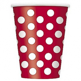 Unique Red Dots Cups