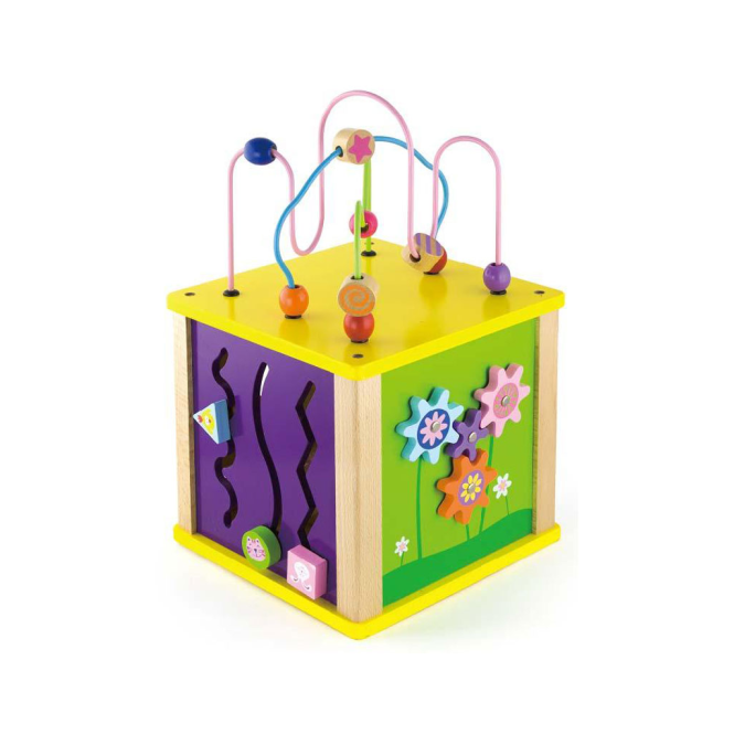 Viga Toys Activity Cube Small