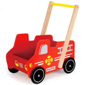 Viga Toys Fire Engine Cart
