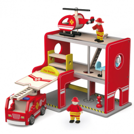 Viga Toys Fire Station