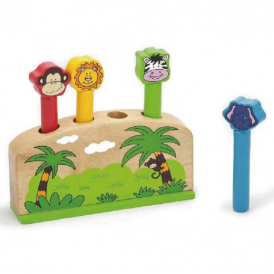Viga Toys Pop Up Animals