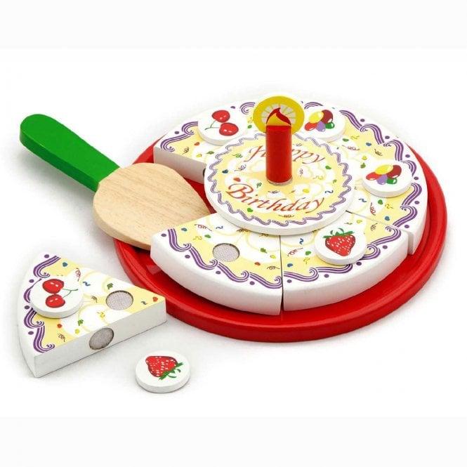 Pleasing Viga Toys Wooden Birthday Cake Kids Toys From Soup Dragon Uk Personalised Birthday Cards Veneteletsinfo