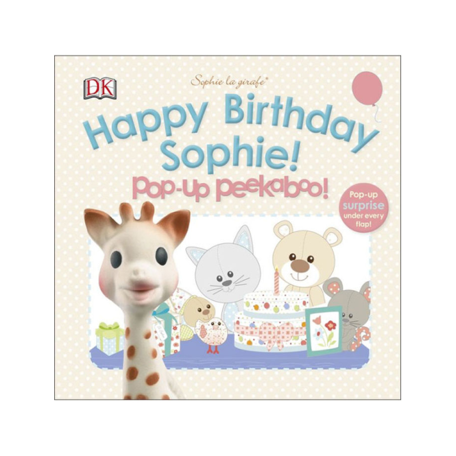 Vulli Happy Birthday Sophie Book