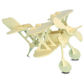 Woodcraft Construction Kit - Bi-Plane