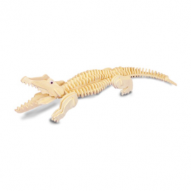 Woodcraft Construction Kit - Crocodile