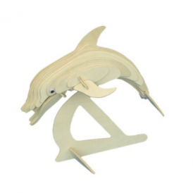 Woodcraft Construction Kit - Dolphin