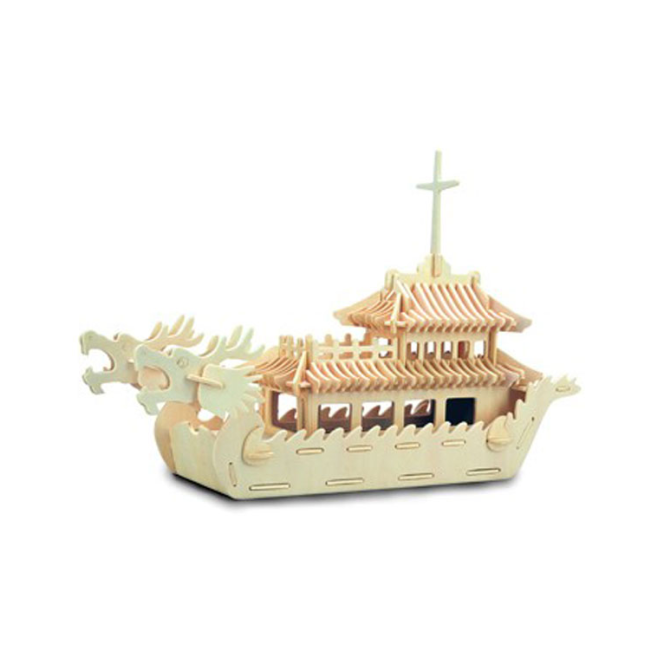 Woodcraft Construction Kit - Dragon Boat