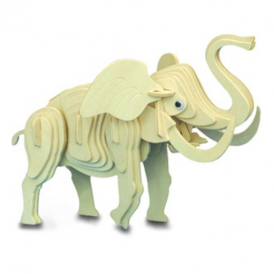 Woodcraft Construction Kit - Elephant