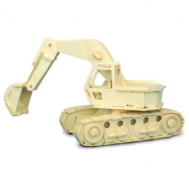 Woodcraft Construction Kit - Excavator