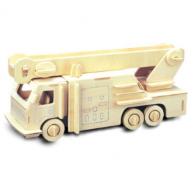 Woodcraft Construction Kit - Fire Engine