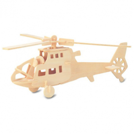 Woodcraft Construction Kit - Helicopter
