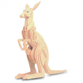 Woodcraft Construction Kit - Kangaroo