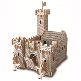 Woodcraft Construction Kit Knight Castle