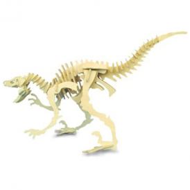 Woodcraft Construction Kit - Large Velociraptor