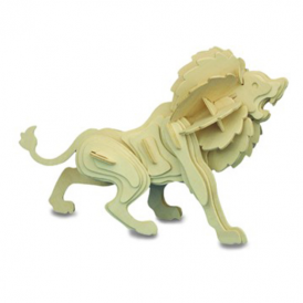 Woodcraft Construction Kit - Lion