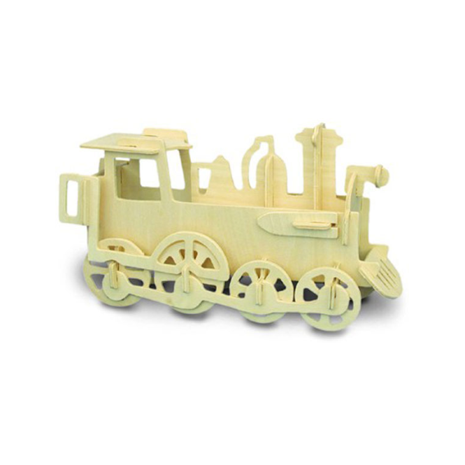 Woodcraft Construction Kit - Locomotive