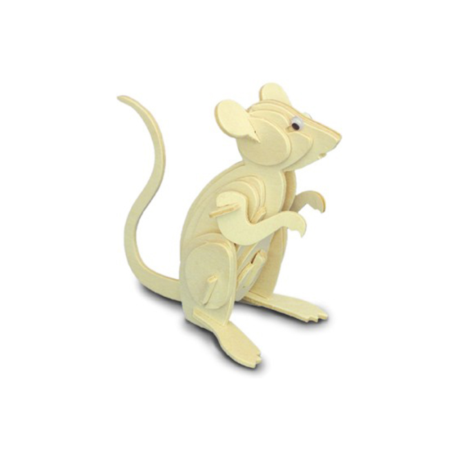 Woodcraft Construction Kit - Mouse