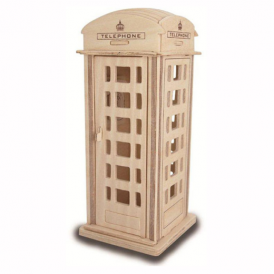 Woodcraft Construction Kit Phone Box