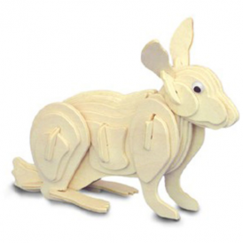 Woodcraft Construction Kit - Rabbit