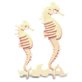 Woodcraft Construction Kit - Sea-Horse