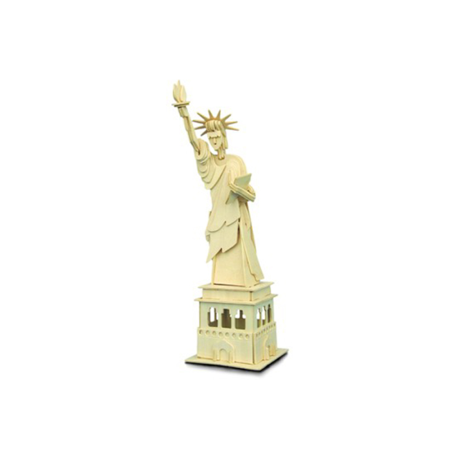 Woodcraft Construction Kit - Statue of Liberty