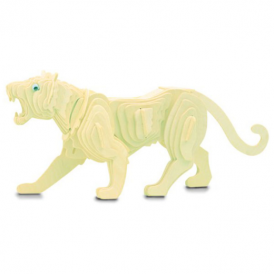 Woodcraft Construction Kit - Tiger