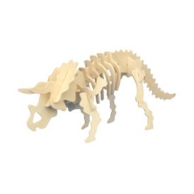 Woodcraft Construction Kit - Triceratops