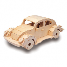 Woodcraft Construction Kit - VW Beatle