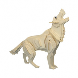 Woodcraft Construction Kit - Wolf